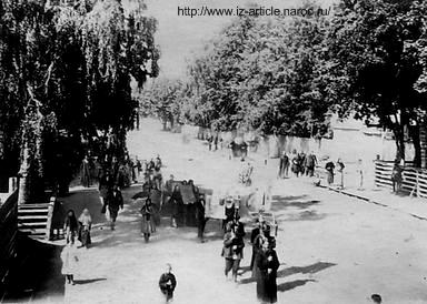 Ижевск. Крестный ход старообрядцев. Фото 1910 г.