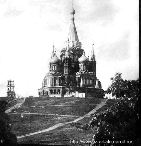 Храм Михаила Архангела. Ижевск.