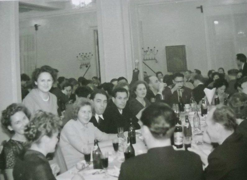 Корпоратив. Глазов 1961 год.