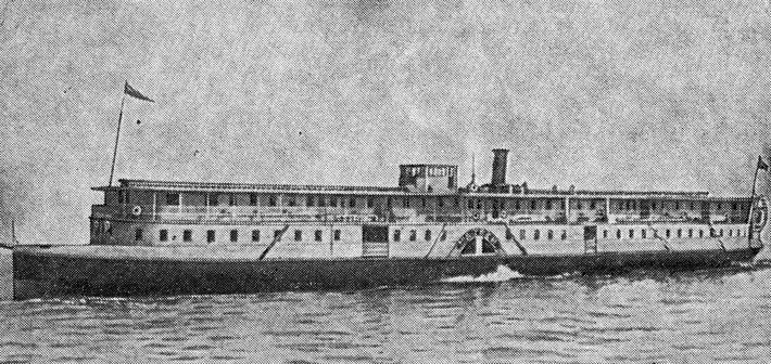 Товарно-пассажирский пароход типа «МАТВЕЙ».