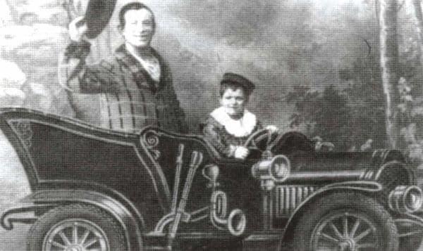 Василий Николаевич Камбаров - клоун, акробат, наездник (1886-1946 гг.)