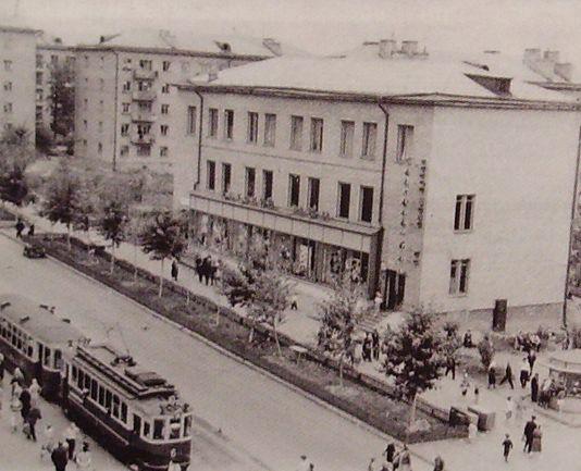 """Магазин """"Детский мир"""". 1965 год. Ижевск Ленина 46."""