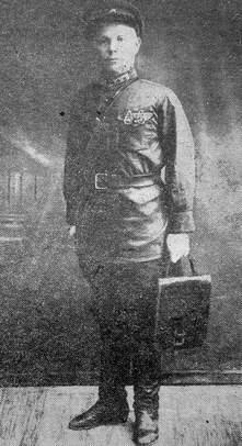 Сотрудник уголовного розыска Можгинского районного управления милиции Мокрушин А. А. 1932г.