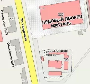 Свято-Троицкий кафедральный собор. Ижевск.