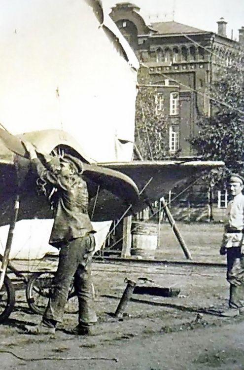 Самолеты в Сарапуле.