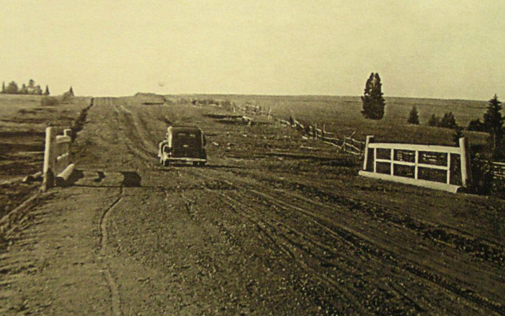 Старые фото дорог Удмуртии, 30-ые годы Фото из альбома к 75-летию Удмуртавтодора.