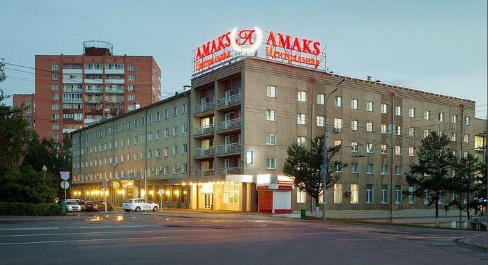 """Центральная гостиница """"АМАКС"""". Фото 2017 год. Пушкинская 223 Ижевск."""