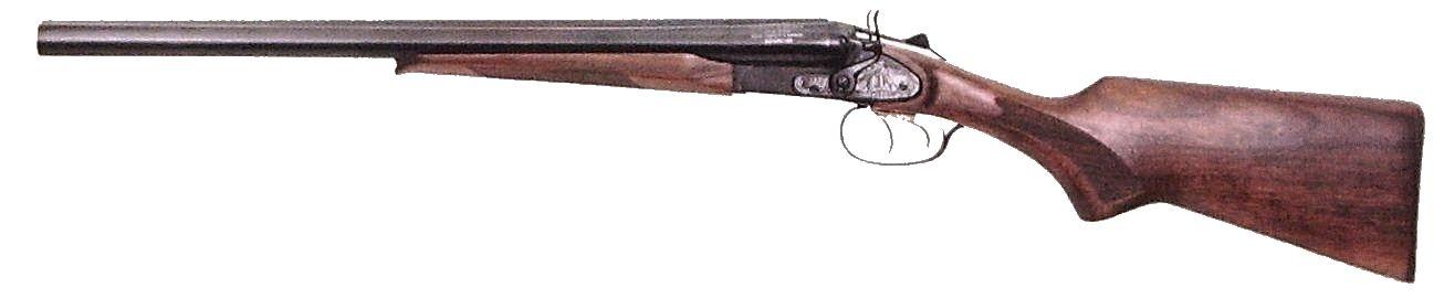 Охотничье двуствольное ружье ИЖ-43К.