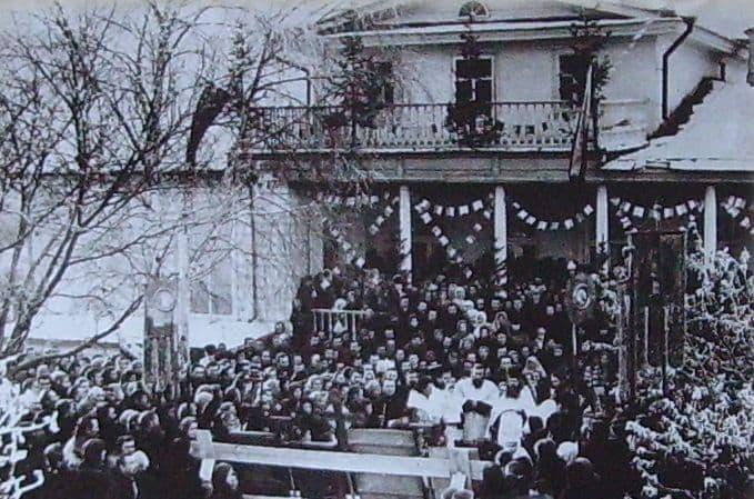 Открытие ижевской прогимназии. Ноябрь 1907 г.
