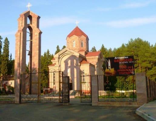 Армянская церковь в Ижевске.