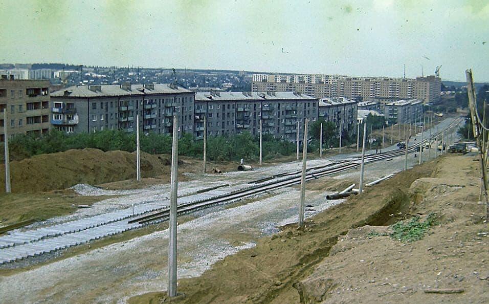 Масштабная реконструкция ул. К.Маркса Ижевск в конце 70-х.