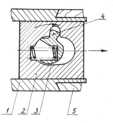 Механизм привода запорной планки в ружьях типа Иж-27.