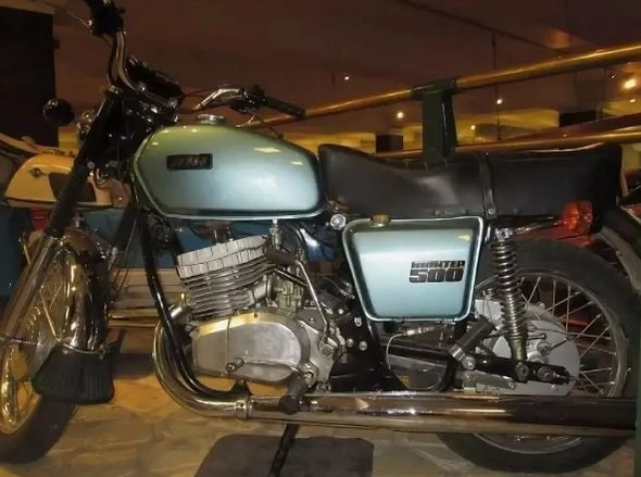Мотоцикл ИЖ-500.