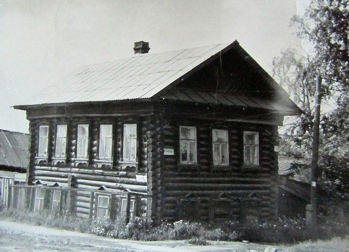 Деревянный дом на ул.К.Либкнехта.