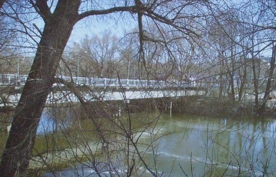 Долгий мост в Ижевске.