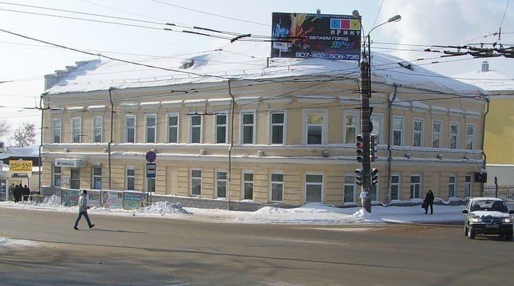 Дом Новикова Ижевск.