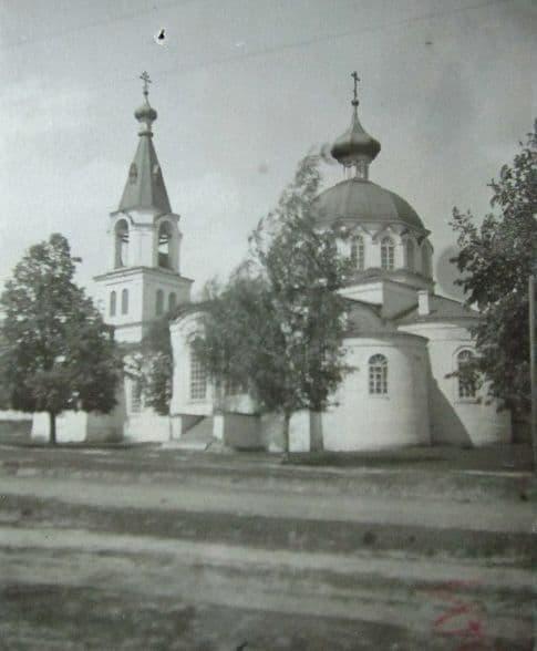 Кекоран, фото перед закрытием Христорождественского храма в 1939 году. Свято-Троицкая церковь. Ижевск.