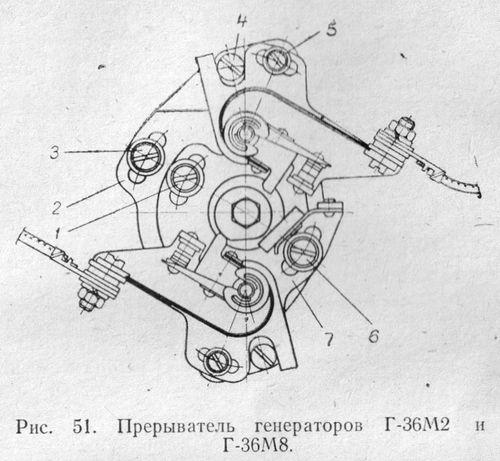 Прерыватель генераторов Г-36М2 и Г36-М8 мотоциклов ИЖ.