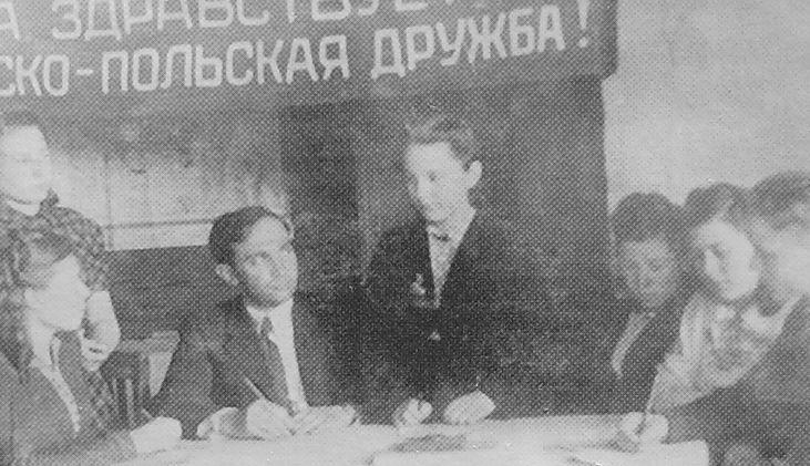Руководство Каракулинского детского дома . 1940 -е гг. Удмуртия.