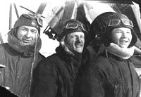 Курсанты летной группы Ижевского аэроклуба. Вторая половина 1930-х гг.