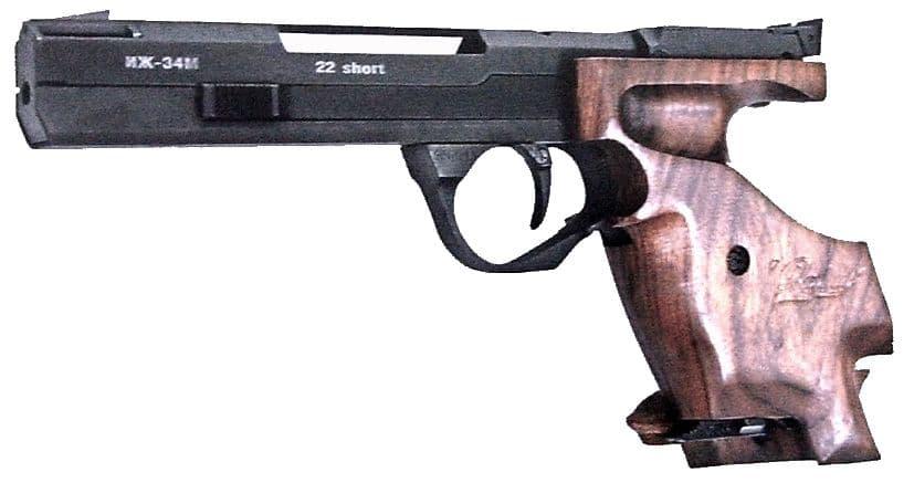 Пистолет ИЖ-34, Ижевск.