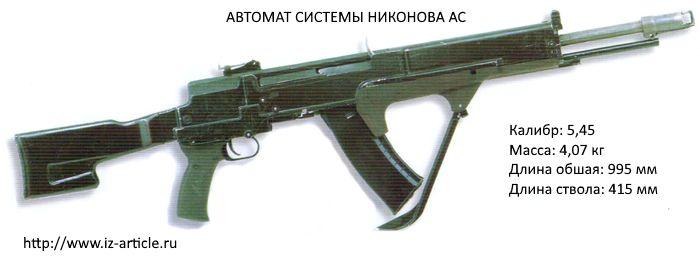 Автомат системы Никонова АС (Изделие ПУ-192)