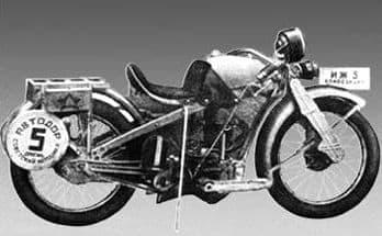 Мотоцикл иж 5