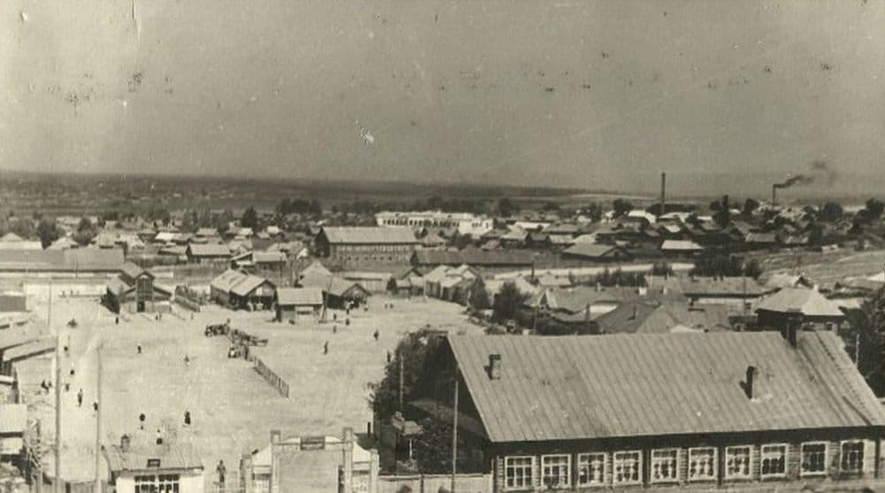 Старая базарная площадь. Можга г.
