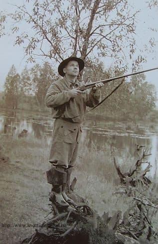 Калашников. Охота на уток. Удмуртия. 1957 г., Michael T. Kalashnikov