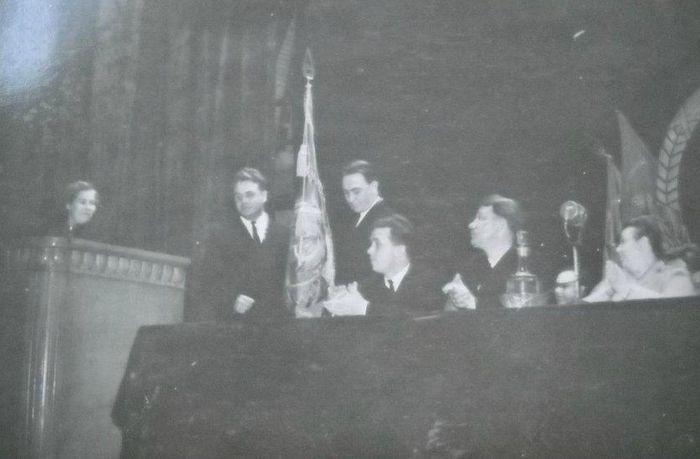 Партийное собрание Глазов 1960 год.