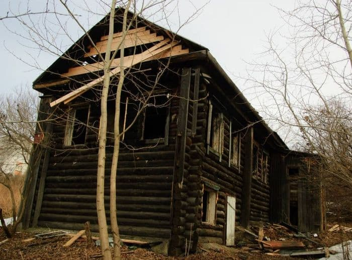 Дом, в котором жил Пастухов Иван Дмитриевич. Фото 2018 год.