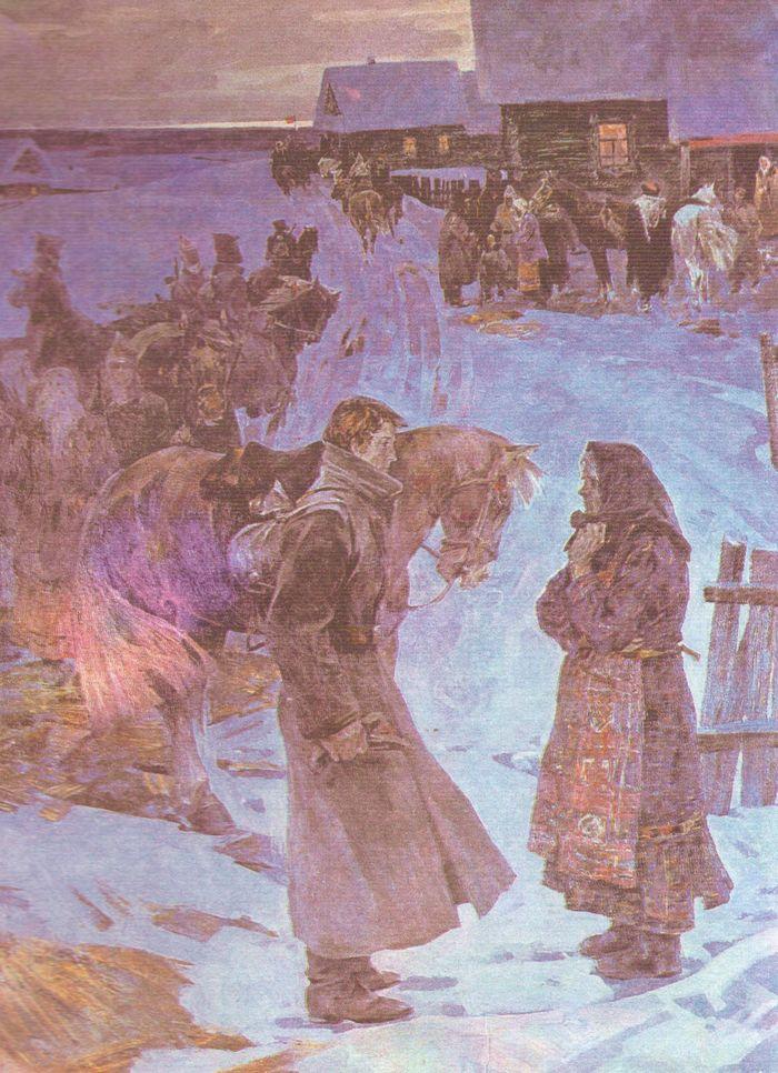Художник МАТАНЦЕВ Фёдор Прокопьевич, 1919 год.