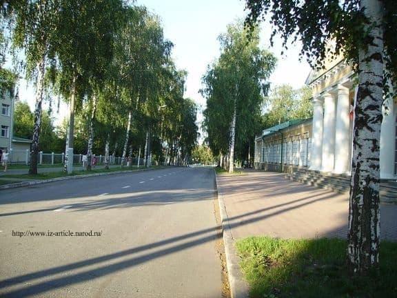 Улица Наговицына. Ижевск. Фото ДВА.