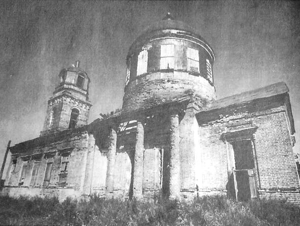 Село Выезд Удмуртия. Храм в честь Покрова Пресвятой Богородицы.