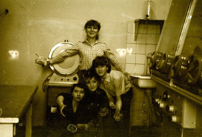 Студенты УдГУ, БХФ, 1982 - 1984г.