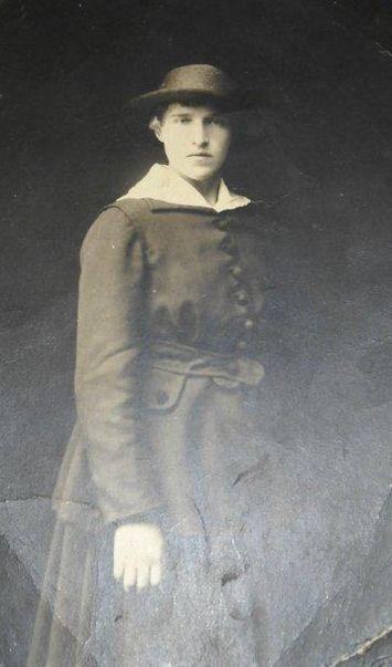 Портрет женщины. 1922 год. Глазов.