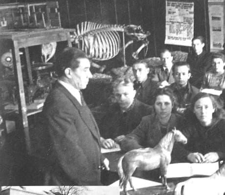Меньшов Б.Г. - первый директор Ижевского сельскохозяйственного института. 1951 г.