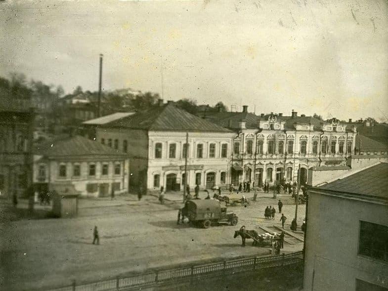Улица Коммунальная. 1937 г.  Ижевск.