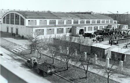 Центральный рынок. Фото 70 -х годов. Ижевск.