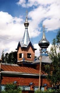 Храм Успения Пресвятой Богородицы. Ижевск.