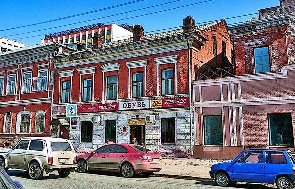Дом Горького 76 Ижевск - дом врача Тихонова С.Н.