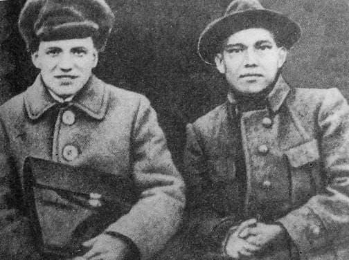 Кузебай Герд и Трокай Борисов.