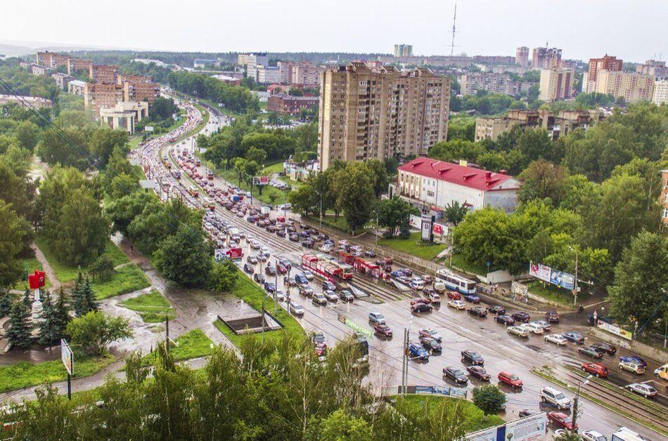 Улица Кирова Ижевск, 2014 год.