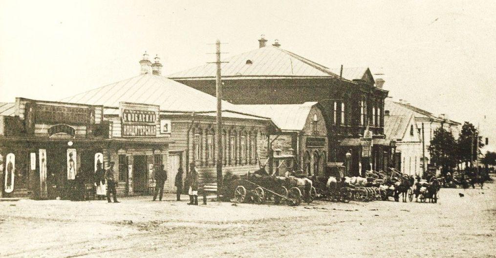 Воткинск. Улица Конторская, ныне улица Кирова.