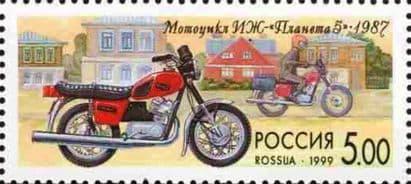 Марка История отечественного мотоцикла. Мотоцикл ИЖ-Планета 5.