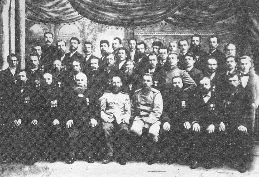 Инструментальный цех Ижевского оружейного завода. Фото 1909 года.