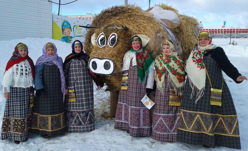 Республиканский праздник Масленица в  с.Сигаево, 2017 г.