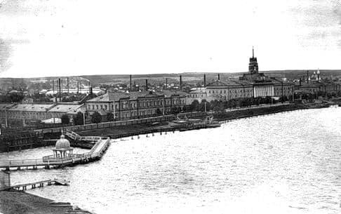 Ижевский оружейный завод,  заводская башня. Иордань.