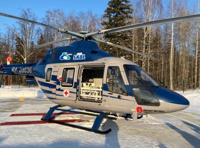 Cанитарный вертолет. Удмуртия.