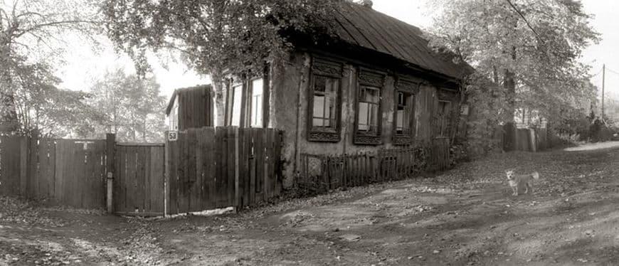 Ул. Милиционная, 80-е годы. Ижевск.